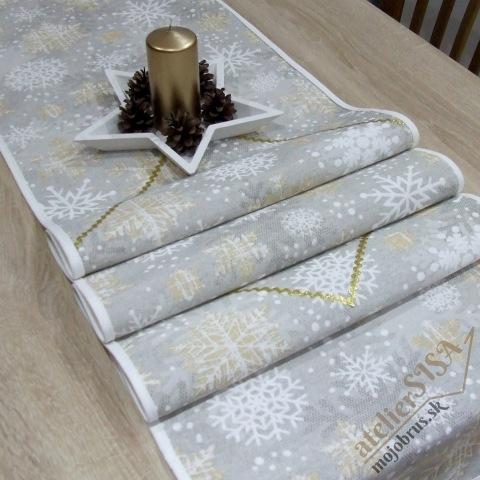 vianočná štóla GRACIA - behúň, napron