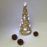 Vianočná dekorácia - stromček SÍRIUS - stojaca svetelná dekorácia