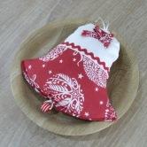vianočný zvonček RADANA - závesná dekorácia