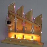 Vianočný svietnik HELIOS 2
