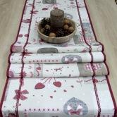 vianočný stredový obrus BIBIANA