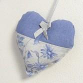 srdiečko LINA - textilná závesná dekorácia