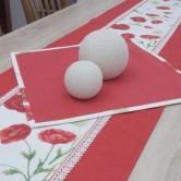 obrúsok štvorcový MAKY - červený