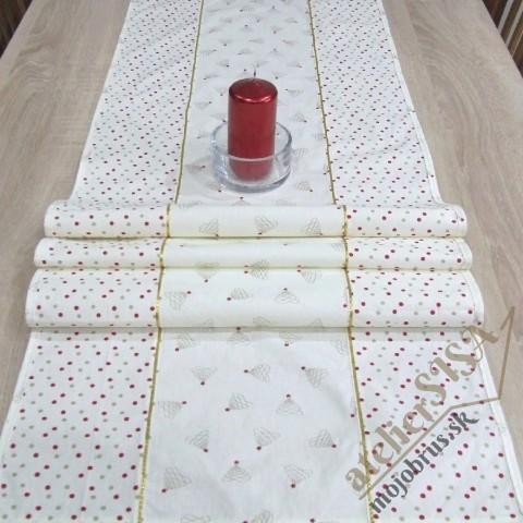 vianočný stredový obrus ADELA - dlhý obrus, štóla, behúň