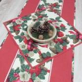 vianočný obrúsok štvorec IVANA