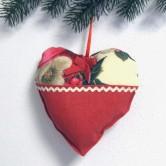 vianočné srdiečko IVANA