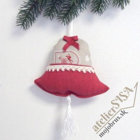 vianočný zvonček RADÚZ - závesná dekorácia