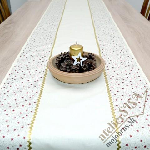 vianočný stredový obrus FILOMÉNA 1 - behúň, štóla