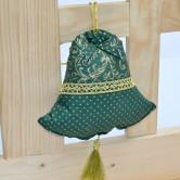 vianočný zvonček KORINA - závesná dekorácia