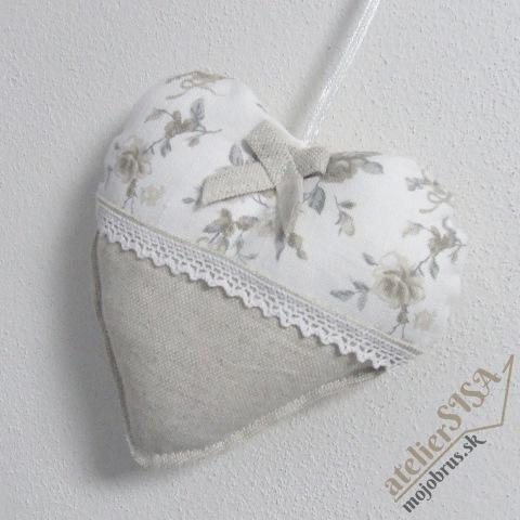 srdiečko BLANKA - závesná dekorácia
