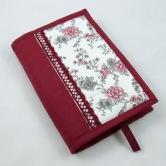obal na knihu ANIKA - textilný ochranný obal