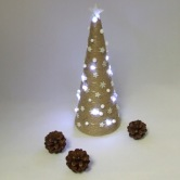 Vianočná dekorácia - stromček SÍRIUS