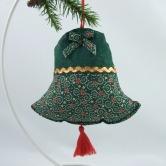 vianočný zvonček TAMARA - závesná dekorácia