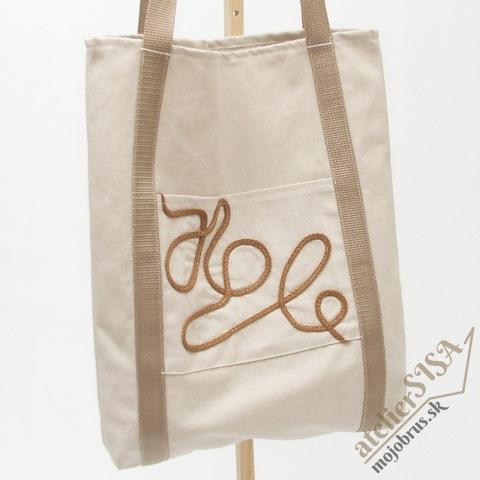 nákupná taška REŽNA - na ekologický nákup
