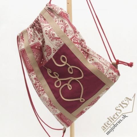 batoh MAXIM - textilný vak, látkový ruksak