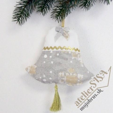 vianočný zvonček GRACIA - závesná dekorácia