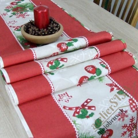 vianočný stredový obrus HILDA 1 - štóla, behúň