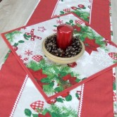 vianočný obrúsok štvorec HILDA