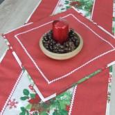 vianočný obrúsok štvorec HILDA 2