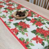 vianočná štóla SANDRA - stredový obrus, behúň