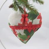 vianočné srdiečko SANDRA
