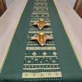 vianočný stredový obrus MILADA 1 - štóla, behúň