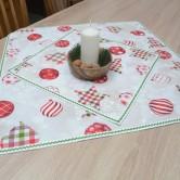 vianočný štvorcový obrus - MIRELA