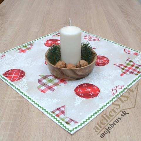 MIRELA - vianočný štvorcový obrus