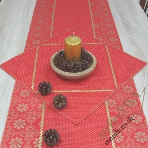 vianočný obrúsok štvorec SIMONA 1