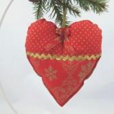 vianočné srdiečko SIMONA