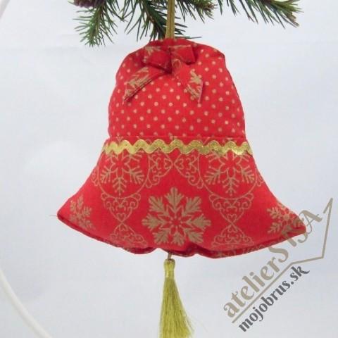 vianočný zvonček SIMONA - závesná dekoracia