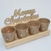 Vianočný adventný svietnik PERSEUS